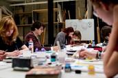 Vooropleiding kunstacademie