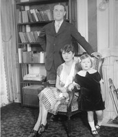 Fitzgerald with his family