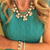 Lila Necklace Layered With The SUTTON