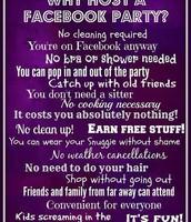 Facebook Party!!