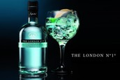 Pudel tippkvaliteediga The London No. 1 džinni Lime