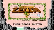 """The Very first Zelda game,""""The legend of Zelda""""."""