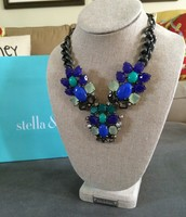 Peacock Statement Necklace - $50