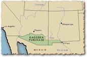 1853- Gadsden purchase