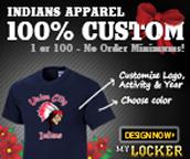 My Locker Indians Apparel