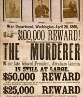 REWARD FOR DEATH OF PRESIDENT