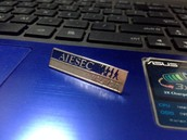 LC UKM AIESEC collar pin