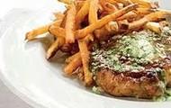 Un steak fries