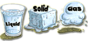 Solid , Liquid, to Gas