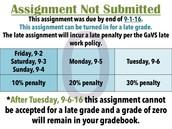 Grades were updated.