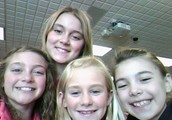 Emily, Maddie, Shae, and Bella