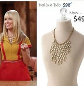 Dalilah Bib Necklace $49