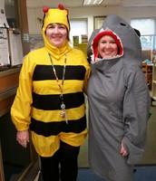 Mrs. Ginalski and Mrs. Clegg