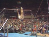 Women's uneven bars in the 1980's!
