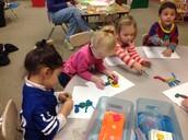 Making Clay Dinosaurs