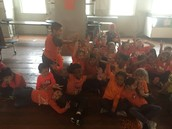 Spirit day- love the orange!