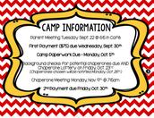 Camp Allaso Upcoming Dates!