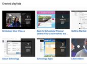 Schoology YouTube Videos