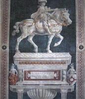 """""""Condottiero Giovanni Acuto"""" by Paolo Uccello"""