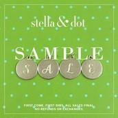Sample Sale Details!