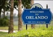 Entering Orlando