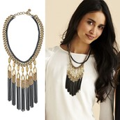 Lillith Fringe Necklace