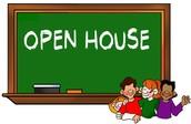 Open House - next week!