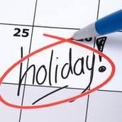 Holidays from Zimbabwe