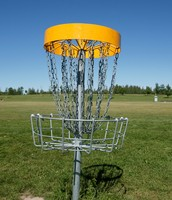 "A Frisbee Golf ""Hole"""