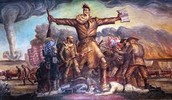 john brown wanting to rule it, when killing five people of Pottawatomie