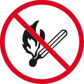 Don't smoke and make fire