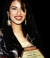 "Selena Receiving the ""Best Female Vocalists of the Year"" and ""Performer of the Year"" Awards"