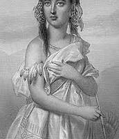 POCAHONTAS AS A YOUNG GIRL CHILD
