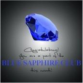 Sapphire Club    $500-$999 PV
