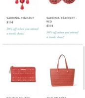 50% off jewellery! bags are sold out ! only today left to snag these deals for April