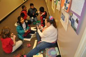 CWES - Genuis Hour - K students learned about how rainbows are made, and then they made their own!