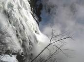 La chute Montmorency vue de très près!