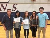 The Bear Hug Award Winners