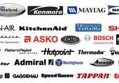WASHER, DRYER, REFRIGERATOR, DISHWASHER, OVEN, DISPOSAL & AC REPAIR