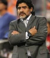Diego Watching His Favorite Team