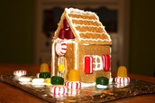 Reminder:  K/1 Gingerbread House Making is Tomorrow! (12-1pm)