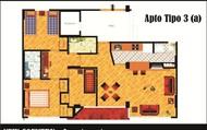 Apartamento tipo 3 opcion 1