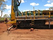 A type of land drilling platfrom