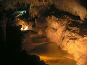 Inside of the cave