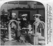 The mince meat department in Armour's great packing house, Chicago, c. 1893