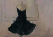 Paint a Little Black Dress in an Evening!