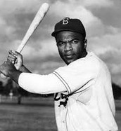 When Jackie was brought up to the majors he broke the color barrier for African American Athletes.