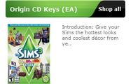 Origin CD Keys (EA)