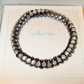 Vintage twist bracelet silver-original $39, sale $15