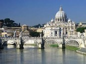 The Tiber River